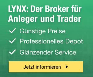 LYNX:preisgekrönte Handelsplattform -    ausgezeichneter Kundenservice - niedrige und transparente Gebühren